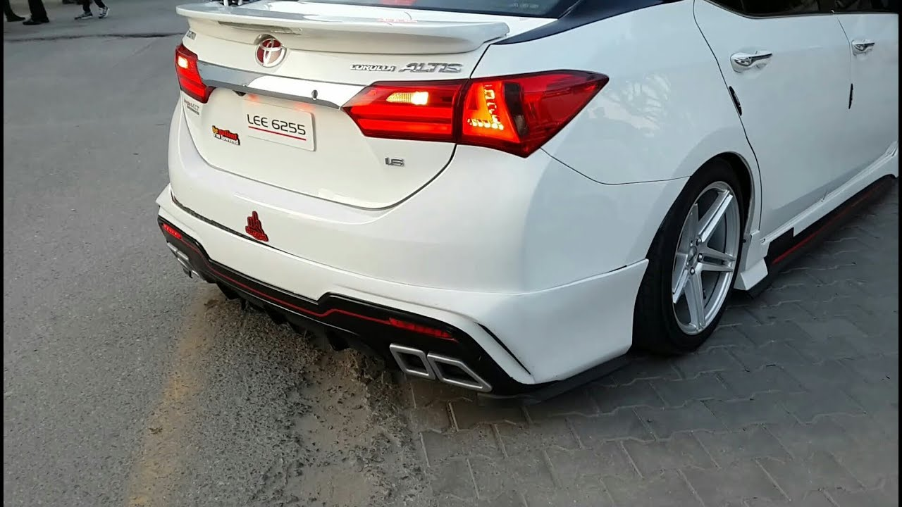 Modified Toyota Corolla Altis 1 6 Gets Its Ass Beaten By
