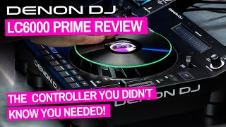 Denon DJ LC6000 Prime DJ Controller Review & Guide - Bargain Extra Deck!
