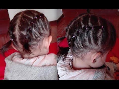 Peinados faciles para cabello corto para bebes