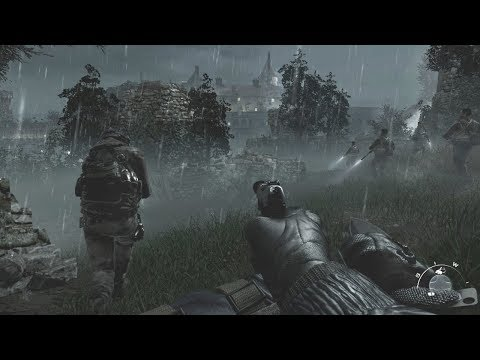 Amazing Stealth Mission with Captain Price ! Call of Duty MW
