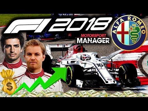 INSANE SEASON OPENER! FIRST RACE FOR ROSBERG! - F1 2018 Alfa Romeo Manager Career Part 33