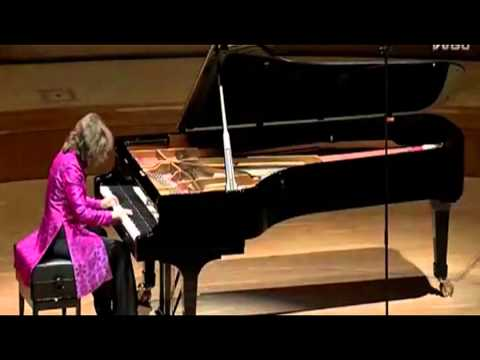 HELENE GRIMAUD plays MOZART - Piano Sonata # 8 in A minor ~ 1st. & 3rd. Mov. 2011
