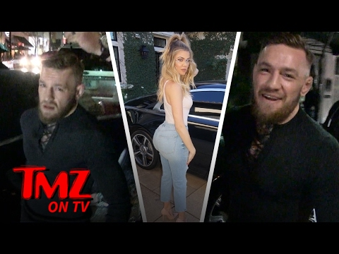 Conor McGregor Sets The Record Straight: I Love Khloe Kardashian's Butt | TMZ TV