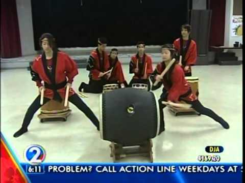 PBA Taiko 2011 KHON2 Morning News Part 1