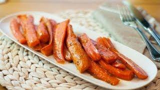 [eng Sub]蜂蜜烤胡萝卜 Honey Glazed Carrots Recipe