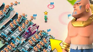 Boom Beach Insane HIGH Level Warrior and Hero Attack Strategy! (Plus a NEW Task Force!)