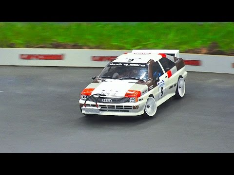 RC DRIFT CAR RACE MODEL ACTION!! RC AUDI QUATTRO