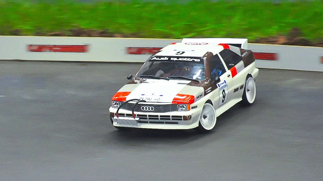 Rc Drift Car Race Model Action Audi Quattro