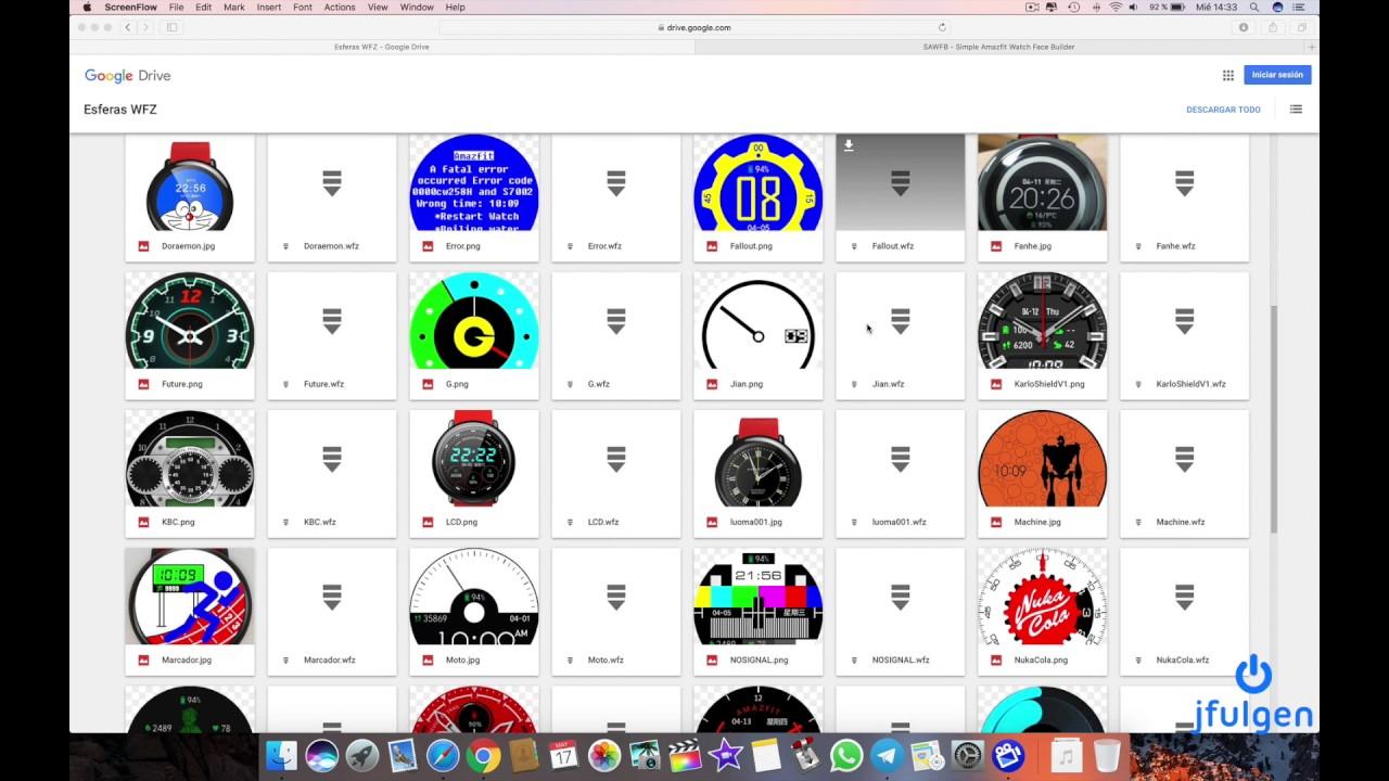 AmazFit Pace & Stratos - Galeria Watchfaces