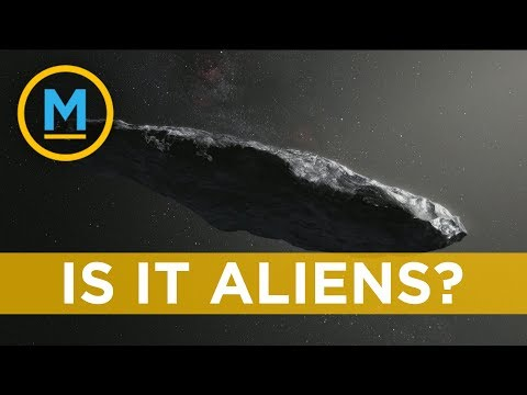 Harvard astronomers say mystery object could be an 'alien probe' | Your Morning
