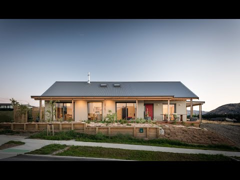 Hempcrete House, Wanaka, New Zealand, Erkhart Construction
