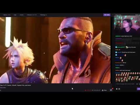 Square Enix E3 Stream [ Final Fantasy 7 Remake ]