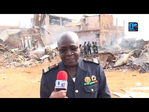 Précision du Commandant Omar Kane sur l'incendie de Pac Lambaye