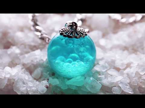 Tutorial DIY Ideas from Epoxy RESIN Resin art | Resin jewelry How to Make Glow in the Dark craters