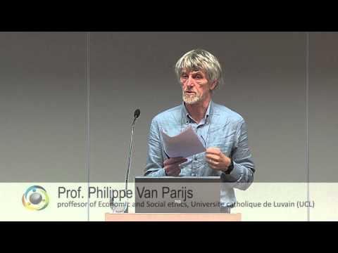 UBI - Beautifully, disarmingly simple idea (Prof. Philippe van Parijs) (ENG)