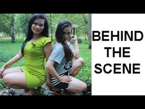 Behind the scene pemotretan model Tika dan Cindy