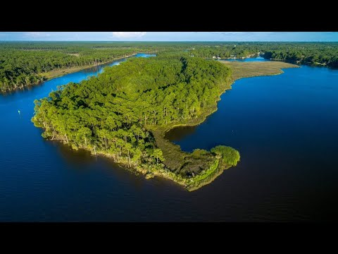 Last of its kind Undeveloped Private Island Located in FL Panhandle