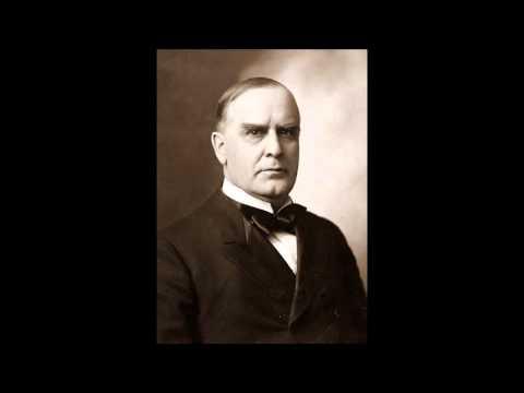 William McKinley 1896 campaign speech