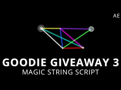 Goodie Giveaway 3 - Magic String Script