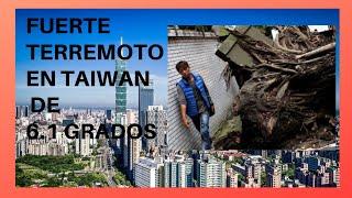 Terremoto en Taiwan Video grabado en vivo 18 de Abril  2019 -- Earthquake in Taiwan April 2019
