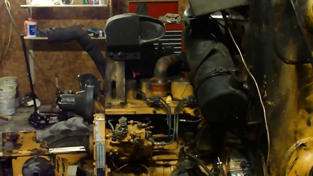 starter motor solenoid wiring diagram 2001 chevy impala fuse box cummins 4t-390 bt3.9 4t390 diesel engine case 580k 590 backhoe 1840 skid steer - youtube