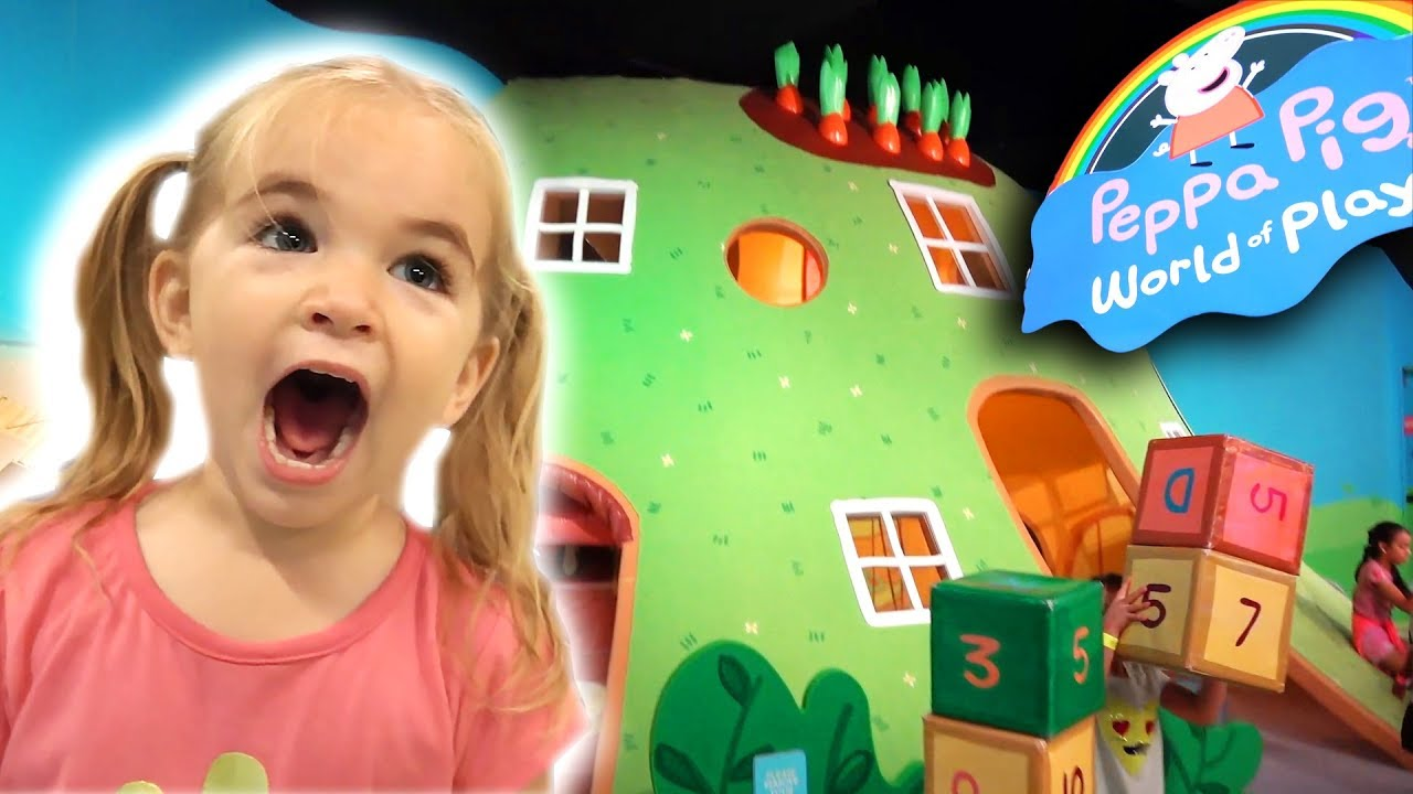 Juliet S Birthday Special At Peppa Pig World Of Play