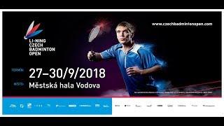 Labar / Fontaine vs Yakura / Tsai (XD, QF) - LI-NING Czech Open 2018