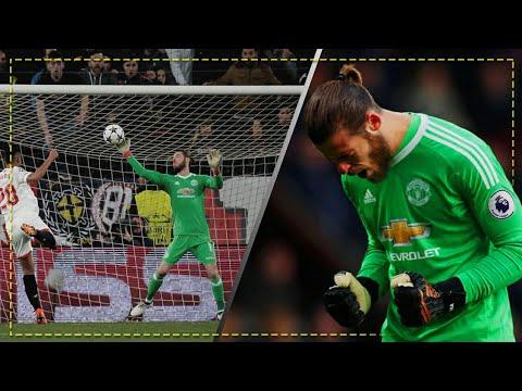 David De Gea : TOP 10 Saves 2018 - Manchester United | HD 1080p