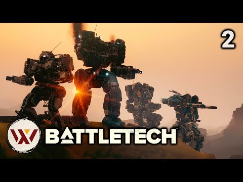 An Awesome Mission (no spoilers) -  #2 BATTLETECH Let's Play Campaign Gameplay