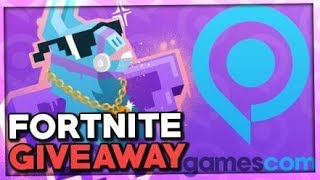 Fortnite LOSATION: GAMESCOM 2018 Fortnite SPRAY! • Fortnite Battle Royale Giveaway [English]