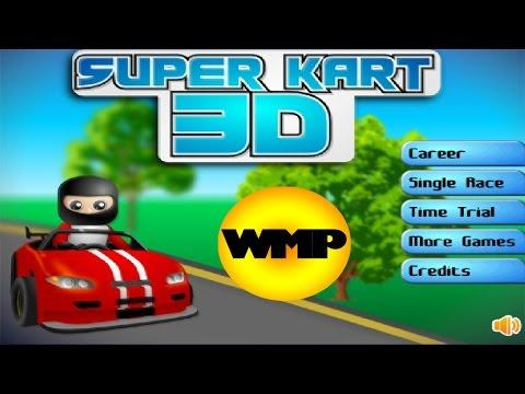 Amazing Super Cart 3D Race