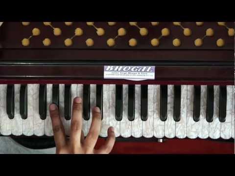 Mil Mere Pritma Jeeyo - Learn Gurbani kirtan Harmonium