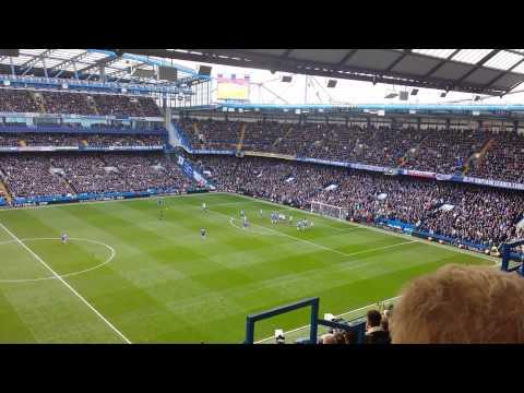 Chelsea 1 - 0 Everton 22/2/2014