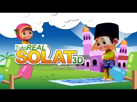 TutoReal Solat 3D | Episod 01 | Iman & Sara