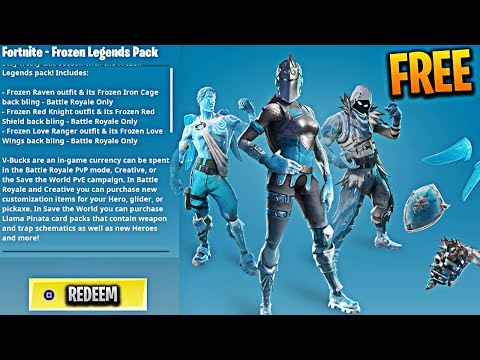 how to get the fortnite frozen legends pack - frozen package fortnite