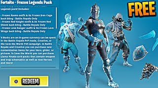 How To Get The Fortnite Frozen Legends Pack for FREE! (NEW Frozen Legends Pack for Subscribers!)