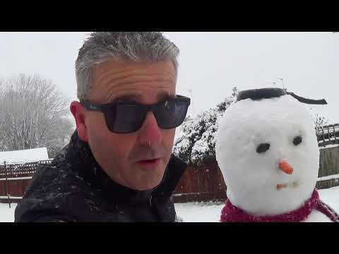 Unexpected Snowstorm in London - News Update (Dr K)