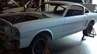 1965 Mustang Fastback Restoration Project- What to look for in a solid, original body.