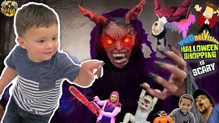 DAT BOY SHAWN DOE! Family Fun FUNnel Family Halloween Shopping Vlog