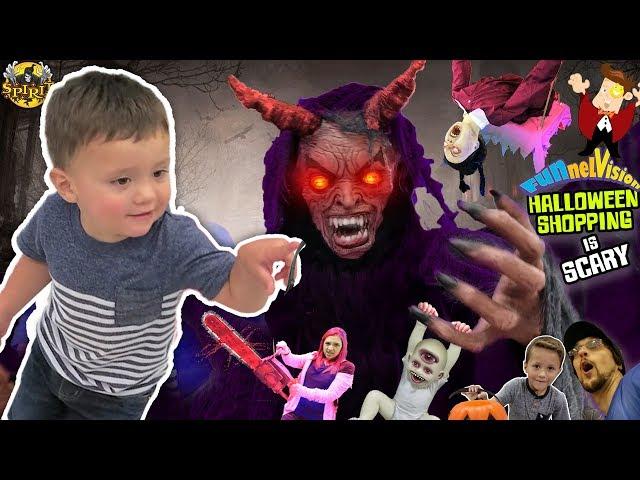 DAT BOY SHAWN DOE! Family Fun FUNnel Family Halloween Shopping Vlog