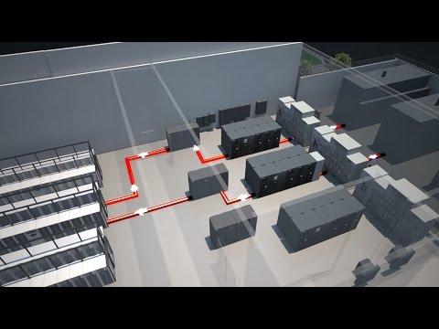 Data Center Animation | Cooling 3D Visualization | OnRamp