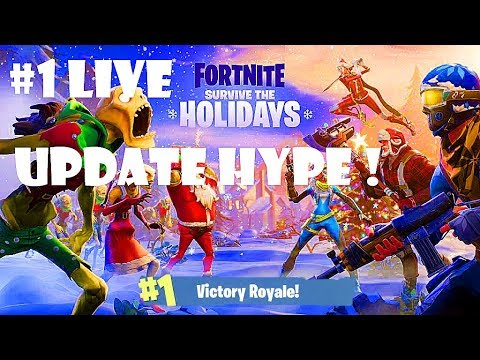 Insane New Christmas Update *All New Items* Epic V-Buck Giveaway (Get Every New Item)
