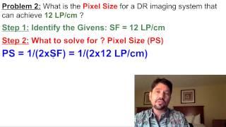 XRayBob Spatial Frequency Math