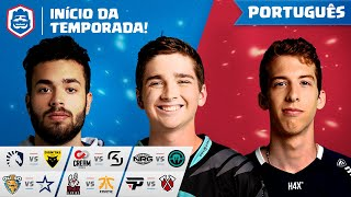 Clash Royale League: CRL West Fall 2019 | Início da Temporada! (Português)