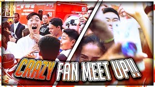 I GOT ATTACKED AT MY CRAZY FAN MEET UP