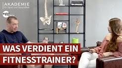 Gehalt Fitnesstrainer:  Was verdient ein Fitnesstrainer? – ASG erklärt's [2019]