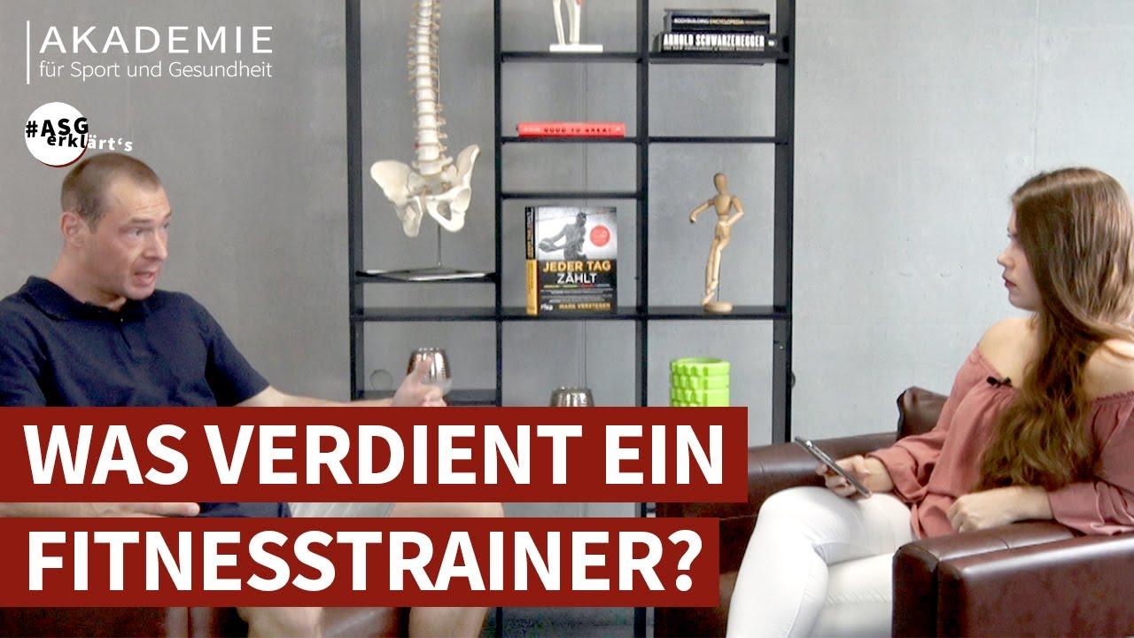 FitneГџtrainer Verdienst