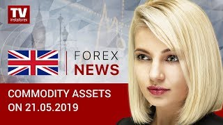 InstaForex tv news: 21.05 .209: Oil prices slide while ruble remains strong (Brent, RUB, USD)