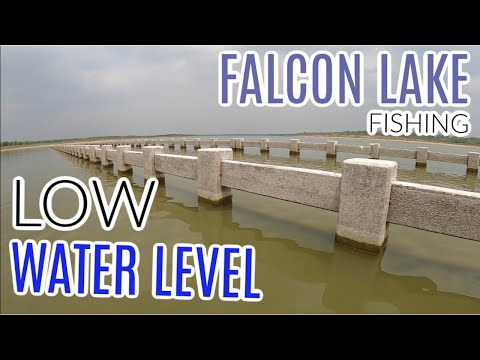 LOW Water Level Fishing   Falcon Lake   Zapata, Tx