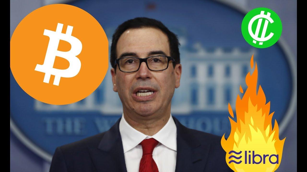 BITCOIN: Treasury Secretary Steve Mnuchin URGENT Speech on Cryptocurrency
